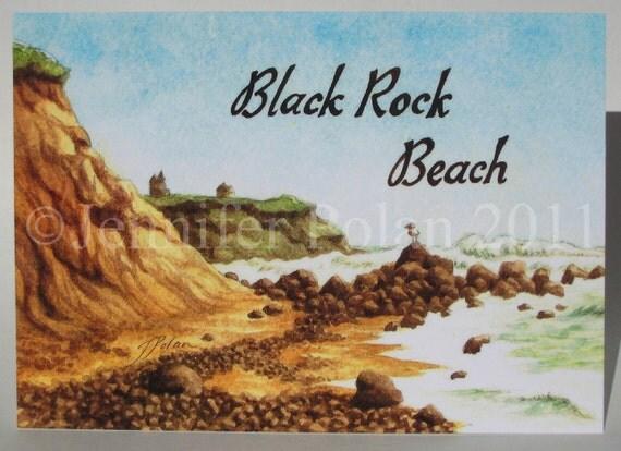 Black Rock Beach Block Island Ri