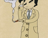 Columbo - One More Thing - Illustration Print