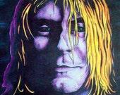 Kurt Cobain Portrait (original art print)