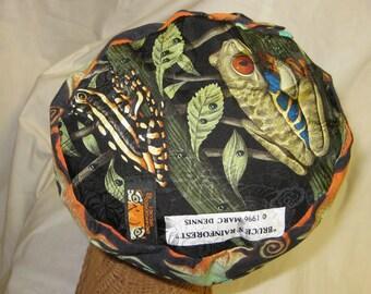 Nature Lover - Unique Necktie Hat from Reclaimed ties