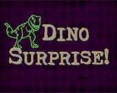 Dino Surprise Package - Itty Bitty Teeny Tiny Jurassic Inspired Gift - Handmade Dinosaur Gift - Present