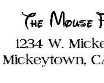 Mouse return address labels