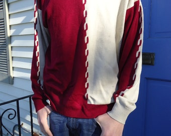 Men's Color Block Sweater