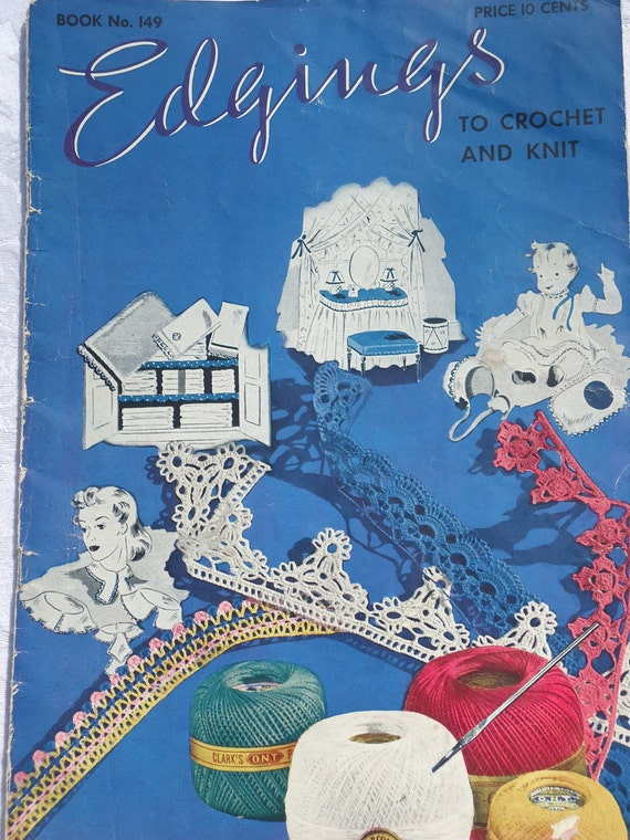 Lace Edgings to Knit & Crochet Booklet