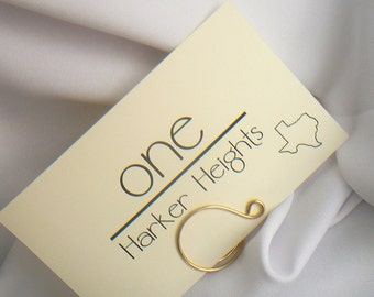 Gold Table Number Holders, Place Settings, 20pcs