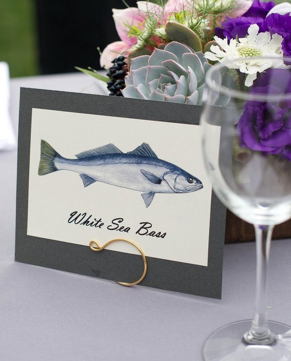4pcs Table Name Holders, Hook Theme Beach Decor, As Seen on SMP