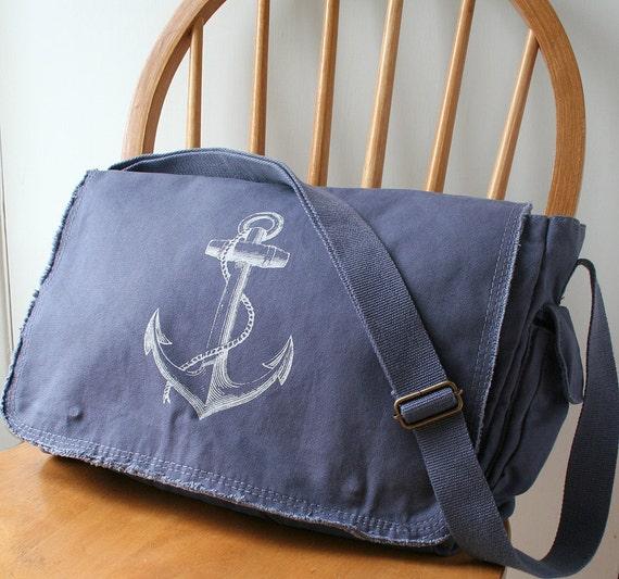 Anchor Messenger Bag Laptop Bag for Men