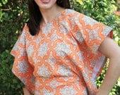 Miss Mod Top - Women's PDF sewing pattern - by Seamingly Smitten