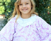 Ruffled Collared Cape for Girls- babies/girls sizes 9months-8years - PDF sewing pattern - Seamingly Smitten