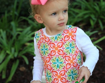 50% OFF Girls ALine Dress sewing pattern for Girls - sizes 6months - 10 years, Girls sewing pattern, easy dress, PDF sewing pattern