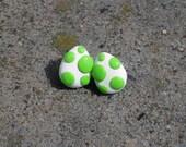 Glow in the Dark Nintendo Yoshi Egg Stud Earrings