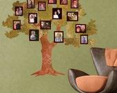 Removable Family Tree Decal for Living Room or Kids Room (stk1083)