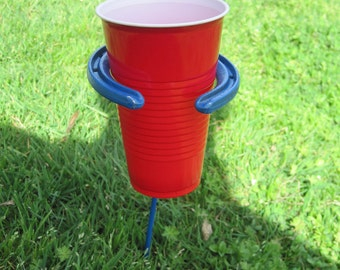 Horseshoe Red Solo Cup Holder
