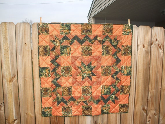Hunter's  Delight Quilted Wallhanging