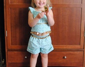 My Fairy Tale Charming Outfit: Jasmine - Sizes 2T, 3T, 4T, 5, 6, 7, 8 and 10