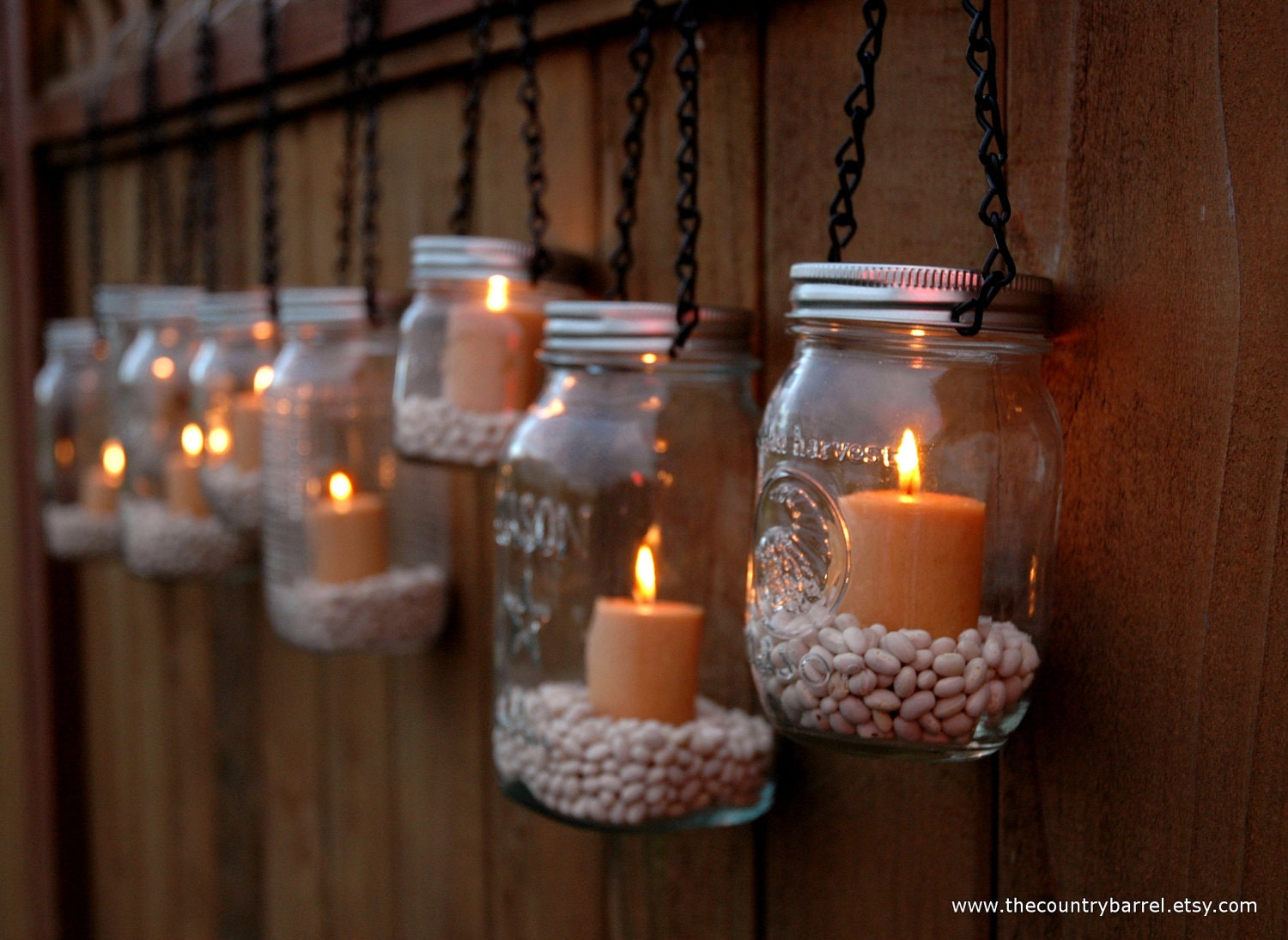 Etsy your place to buy and sell all things handmade for Hanging lights made from mason jars