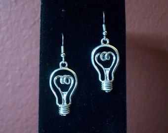 Illumination Earrings - Steampunk, Physics, Gorgeous Geekery