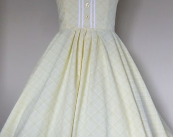 Lemon Drop Swing Dress