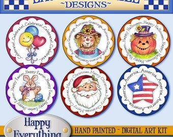 Happy Everything Digital Art Collection