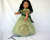 Scarlett O'Hara in Gone with the Wind for your American Girl, Similar Sized Dolls and Bitty Baby