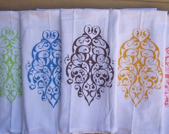 3 Kitchen Towels -Flour Sack Towels -Tea Towels -  Dish Towels - by Modern Vintage Market