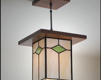 Traditional Mission Style  Lantern