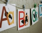 Peeking Animals - Printable Alphabet Playtime Cards