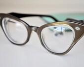 Vintage Eyeglasses 50s Cats Eye