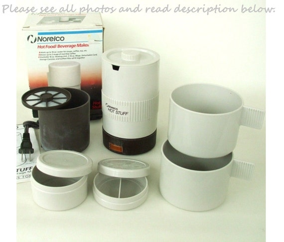 Norelco Hot Stuff Travel Hotpot / Coffee Maker TC22 Used