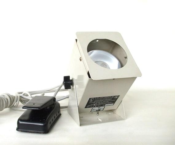 X Ray Film Illuminator Lamp Medical Supply Doctor Office foot pedal