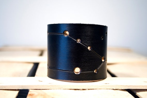 leather cuff Taurus constellation