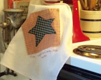 Primitive Star Kitchen Towel
