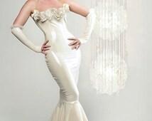 Belle Wedding/Gown Latex Dress