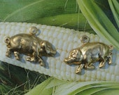 Tiniest Hog or Piglet Charms (6 pc)