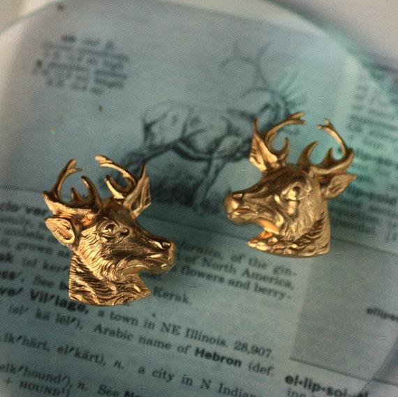 American Elk Heads (2 pair)