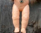OOAK Cast Iron Baby Doll Sculpture