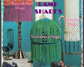 Instant Download PDF Vintage Seventies Crochet Pattern to make 3 Retro Shades Ceiling Table Lamp Hippy Retro Country Home Rustic Decor