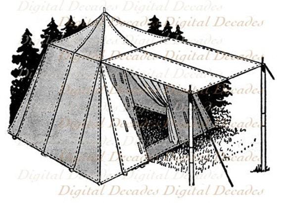C&ing Gear Tent and Lantern - 2 Digital Images - Vintage Art Illustrations - Instant Download  sc 1 st  Etsy Studio & Camping Gear Tent and Lantern - 2 Digital Images - Vintage Art ...