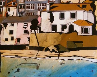 Limited Edition Giclee Print Kitty's Corner St Ives