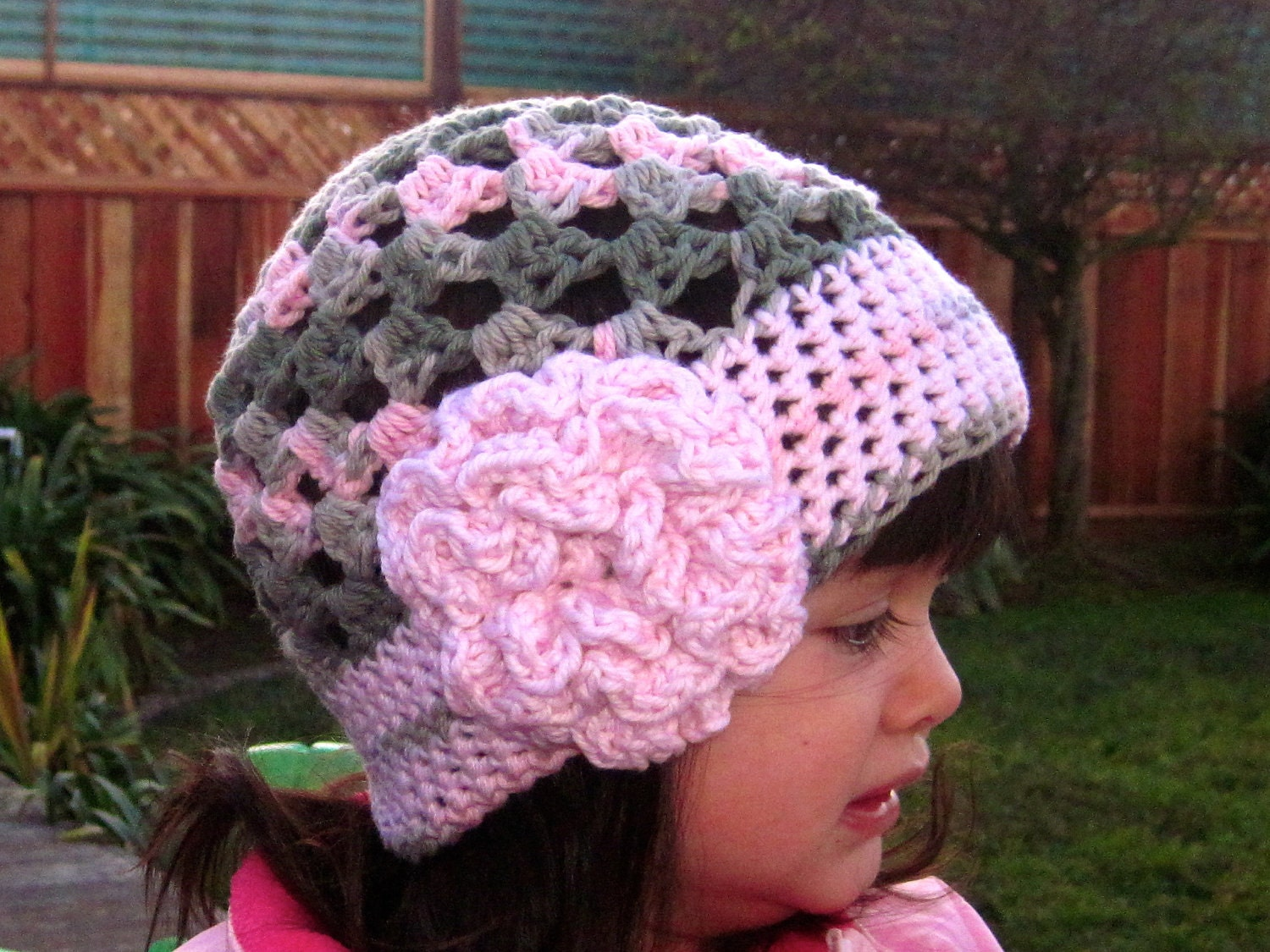 Beanie Hat Crochet Pattern For Child Cute Stuff Beanie Crochet Hat