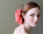 "Poppyhearts 7"" Flower Hair Clip and Pin Brooch"