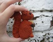 Red Squirrel Crochet Amigurumi Pattern PDF