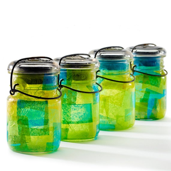 items similar to vintage atlas ball glass top mason jars
