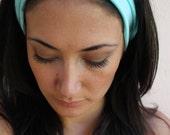 Turban Twist HeadBand -In sea foam green
