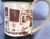 Custom picture mug with ceramic photo decals
