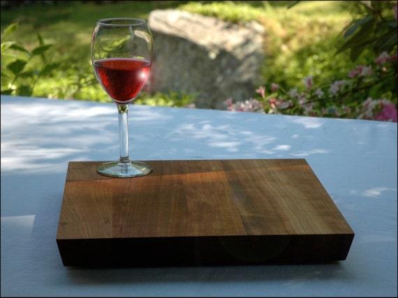 "Unique gift, Wood, Cutting board, Cherry, Walnut or Maple - 13"" x 13"""