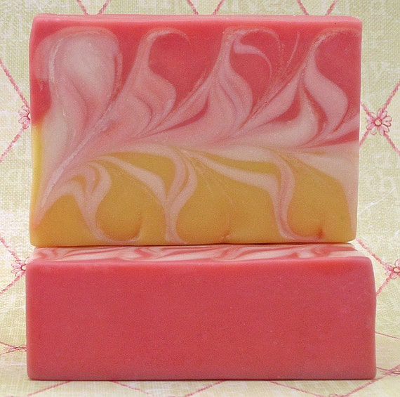 Artisan Cold Process Soap– Lemon Verbena Homemade Soap with Olive Oil, Avocado Oil and Shea Butter