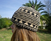 Handmade Wool Bonnet Vintage Traditional Maroccan Clothing