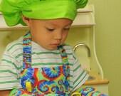 Children's Apron,Tie Dye Print Child's Apron