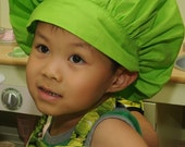 Child's Chef Hat in Green
